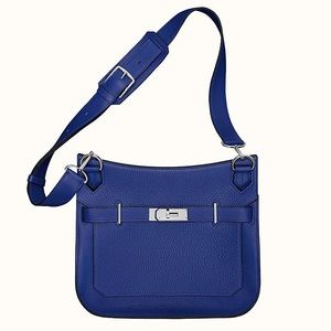 NWT HERMES Jypsiere 28 Bag in Blue